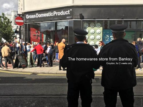 """""""Gross Domestic Product"""" The Homewares Store from Banksy"""