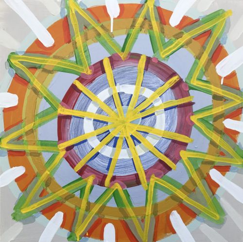 The meditative process of making: Abstraction in Connecticut