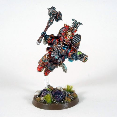 Showcase: World Eaters Chaos Lord with Jump Pack by Uruk