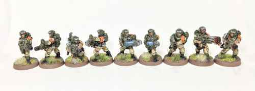 Showcase: Astra Militarum Special Weapons Teams by Alejo