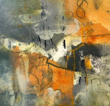 """Abstract Art, Contemporary Painting, Expressionism, """"83 Daze"""" by Contemporary Artist Tracy Lupanow"""