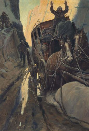 Millions for an early N.C. Wyeth Illustration