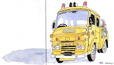 Drawing Fire Engines