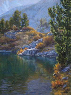 Autumn In The High Country 24x18 pastel