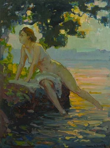More Franz Bischoff Paintings