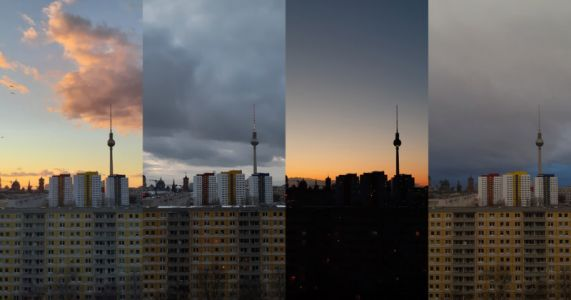 Berlin in Quarantine: A Window View
