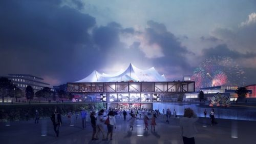Clement Blanchet Draws Inspiration from Circus Tents for Competition-Winning Cultural Center in France