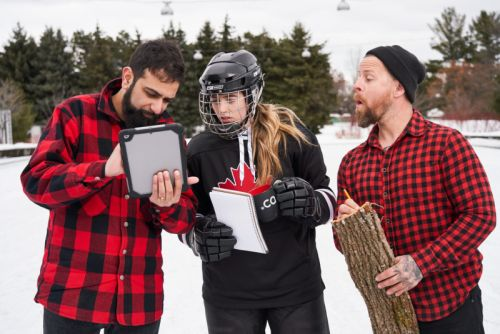 These Winter and Cybersecurity Themed Stock Photos are Very Canadian