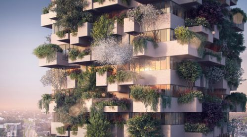 Stefano Boeri Architetti's Vertical Forest is the Very First to be Used in Social Housing