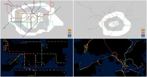 These GIFs Compare Cities' Metro Maps to Their Real Life Geography