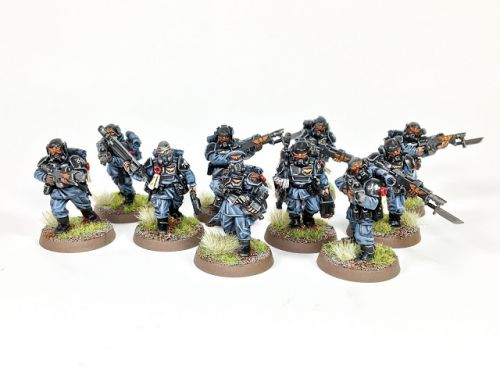 Showcase: Astra Militarum Veterans by Alejo