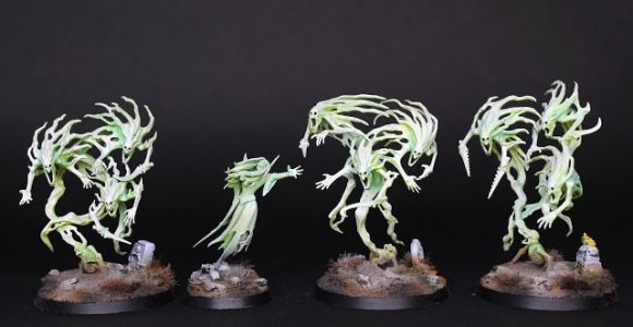 Showcase: Nighthaunts Tomb Banshee and Spirit Hosts