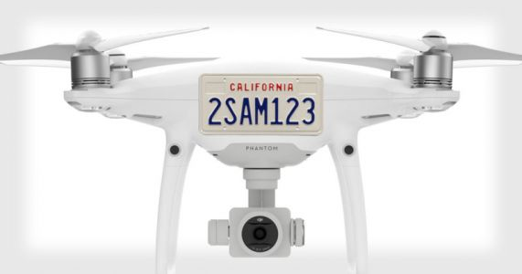 US May Soon Require Drones to Have Visible License Plates