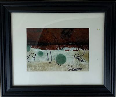 """Expressionism, Contemporary Painting, Framed Abstract Art, """"Explore"""" by Texas Contemporary Artist Sharon Whisnand"""