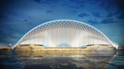 Five Designs for Chicago's O'Hare Global Terminal go to Public Vote