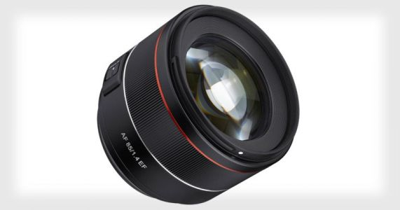Samyang Unveils an 85mm f/1.4 Full Frame Lens for Canon EF