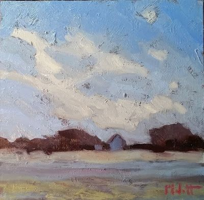 Contemporary Landscape Painting Original Art Heidi Malott