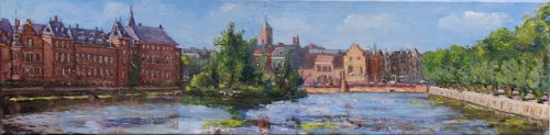 The Hofvijver, The Hague, 3 - Repainted