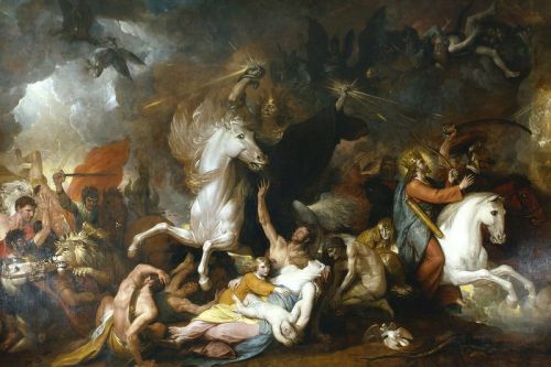 Benjamin West (1738 - 1820) Death on the Pale Horse