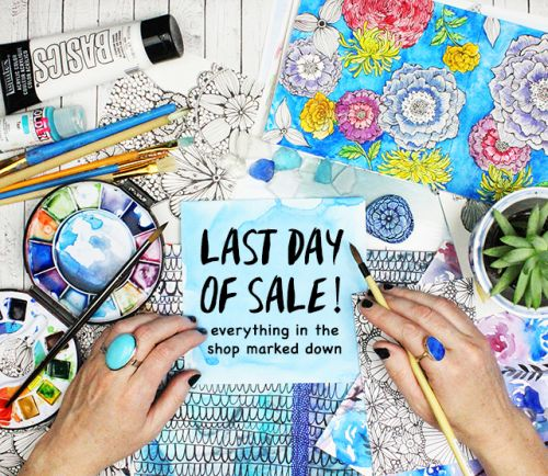 Last day of sale!