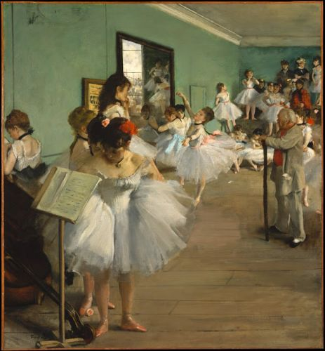 Degas. Born on this day in 1834