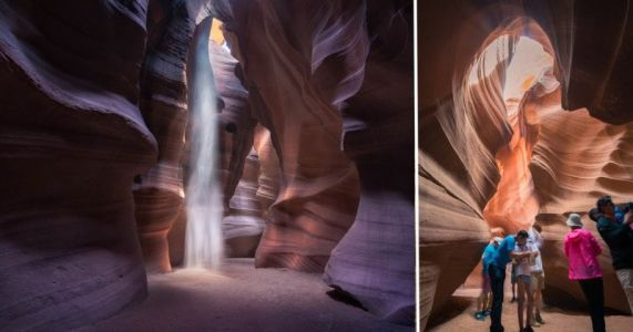 Antelope Canyon is Shutting Down Its Photo Tours Due to Overcrowding and Negative Reviews