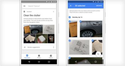 Google Photos Now Suggests Photos to Archive Using A.I