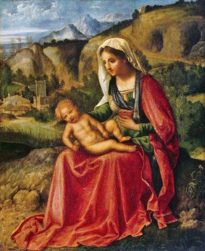 Madonnas attributed to Giorgione (Giorgio Barbarelli from Castelfranco 1477-1510)