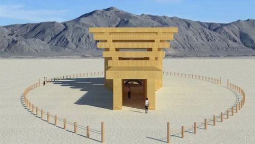 Burning Man Reveals 2019 Temple Design