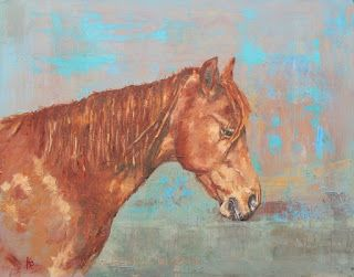 The Gelding - A New Painting