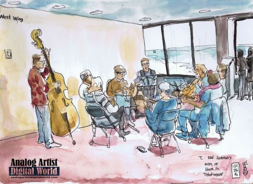 The Uke Jammers in the West Wing