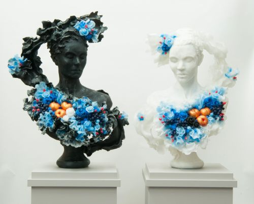 Transformation and Excess Explored in Heavily Decorated Wax Sculptures by Rebecca Stevenson