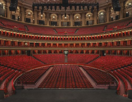 Plush Seats and Ornate Balconies Sit Empty in Joanna Vestey's Unobstructed Photographs of London Theaters