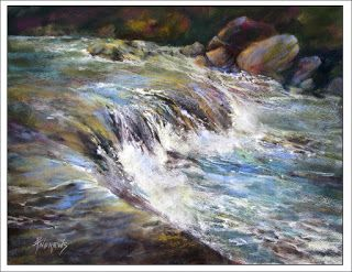 Magesty Sublime..Pastel..Texas Artist..Rae Andrews
