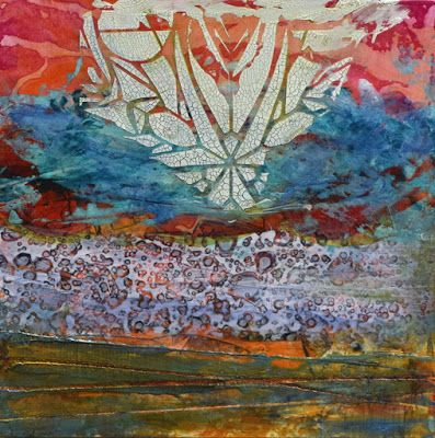 "Abstract Painting, Contemporary Art ""Star Rise"