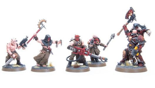 Showcase: Word Bearers Chaos Cultists