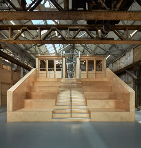 The Forge Offices and Exhibition Space / Emrys Architects