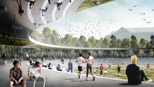 Superspace Re-Imagines Prague's Victory Square as a Social Center
