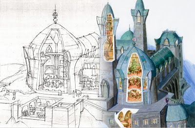 When to do a detailed preliminary drawing