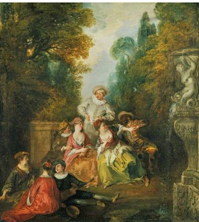 Nicolas Lancret. Born on this day in 1680