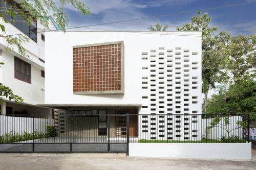 White Skube House / Srijit Srinivas - ARCHITECTS