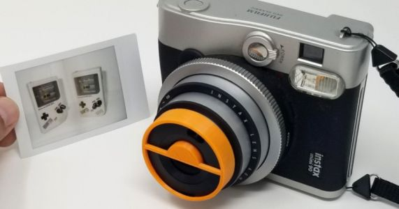 This Simple Instax Mini 90 Add-On Lets You Shoot Split Double Exposures