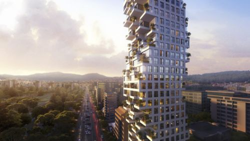 Safdie Architects Announce Design for Fractalized Residential Tower in Quito