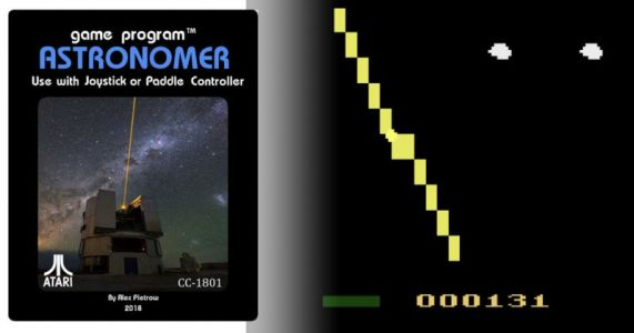 This New Atari 2600 Video Game is 8-Bit Astrophotography