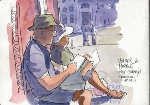 A hunt for sketchers in Porto