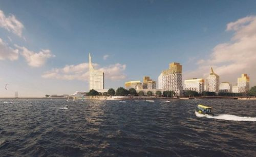 Orange Architects + KCAP Create a Golden City Block for St. Petersburg in Russia