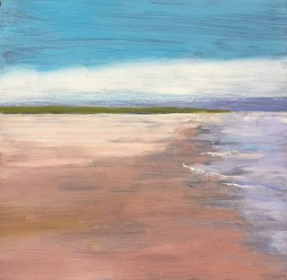 "Beach Scene, ""Tranquility,"" by Amy Whitehouse"