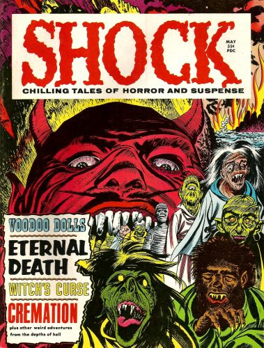 Shock Magazine Covers (1969 - 71) Stanley Publications