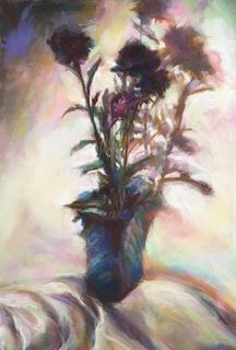 A BUNCH OF THISTLES - still life by Susan Roden