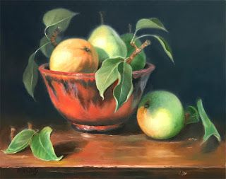 Wild Pears and Pottery